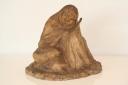 Sculpture en plâtre patiné de l'artiste française Rachel Lucy Hautot