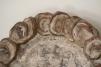 Paire d'éléments muraux en bois sculpté et argenté - Italie