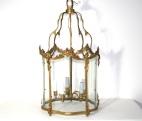 Lanterne en Bronze ciselé et doré, Maison Jansen
