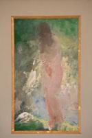 Baigneuse nue sortant du bain par Pavel (Paul) CHMAROFF, non signé (1874 - 1950)