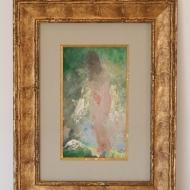 Baigneuse nue sortant du bain par Pavel (Paul) CHMAROFF, non signé (1874 – 1950)