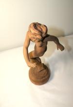 Sculpture en plâtre LE TOURBILLON de Emmanuel André CAVACOS - Vers 1930