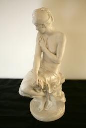 Epreuve en terre cuite, d'après Paul Hippolyte DELAROCHE