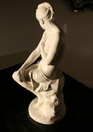 Epreuve en terre cuite à patine blanche, d'après le marbre original de Paul Hippolyte DELAROCHE