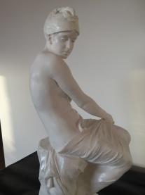 Sculpture en terre cuite, d'après Paul Hippolyte DELAROCHE