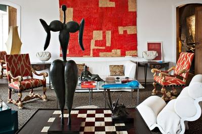 Des objets, des mélanges, des décors pour des intérieurs inspirants …
