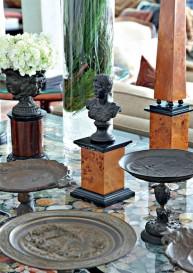 Statuettes en Bronze à patine noire