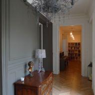 Mélange des époques et des styles dans un appartement Haussmannien