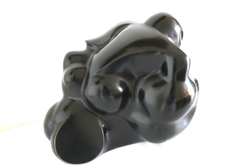Bronze Moderniste, daté 1999, signé JT Jackie TENGIZMAN