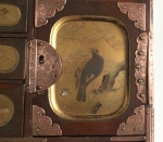 Cabinet en laque du Japon, Meiji 19 ème