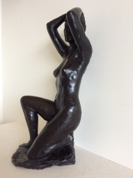 Sculpture In Bronze, Signed Marie Josèphe Bourron