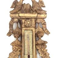 Baromètre Louis XVI, Travail Français d'époque 18ème