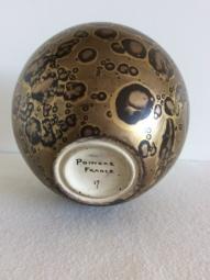 Vase boule en céramique - Art Deco