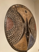 Huge African Mask, Soleil Bwa - Burkina Faso, 20th C.